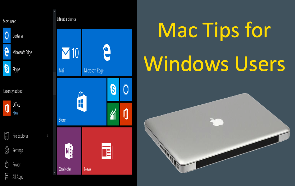 9 Mac Tips for Windows Users