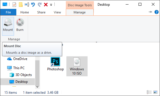 Mounting With Windows File Explorer