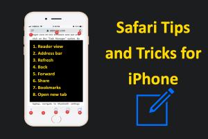 Safari Tips for iPhone