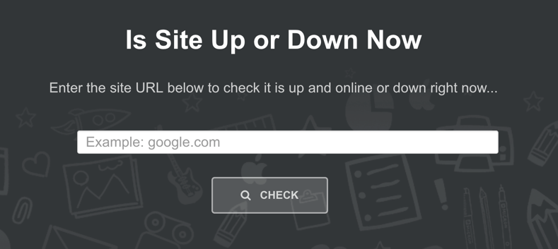 Site Up or Down Service