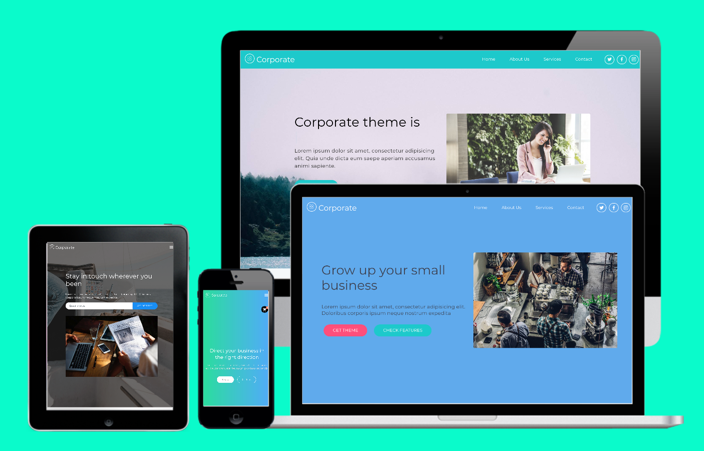 Corporate Bootstrap Theme