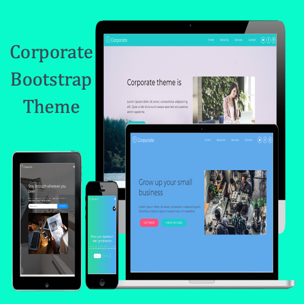 Corporate Bootstrap Theme1