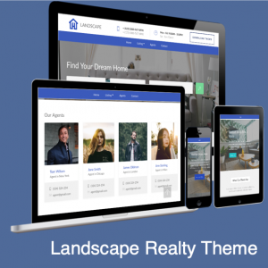 Landscape Realty Bootstrap 4 Theme
