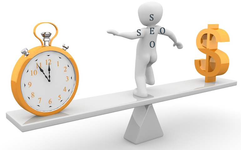 SEO Balance Between Time and Money