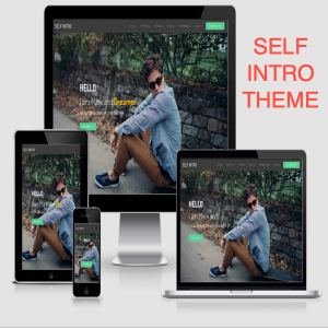 Self Intro Portfolio Bootstrap Template