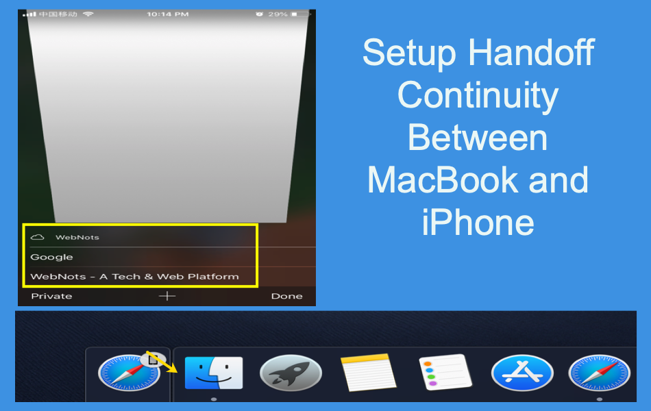 Fix Handoff Continuity Connection Between MacBook and iPhone