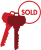 Sold Key Red