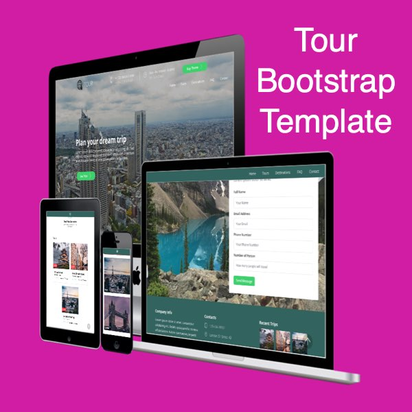Tour Bootstrap Template