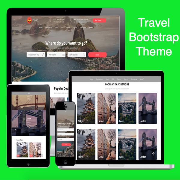Travel Bootstrap Theme