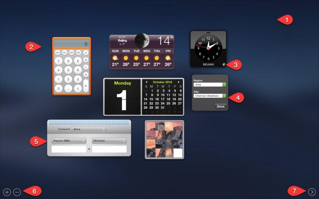 Customizing Dashboard Widgets in Mac