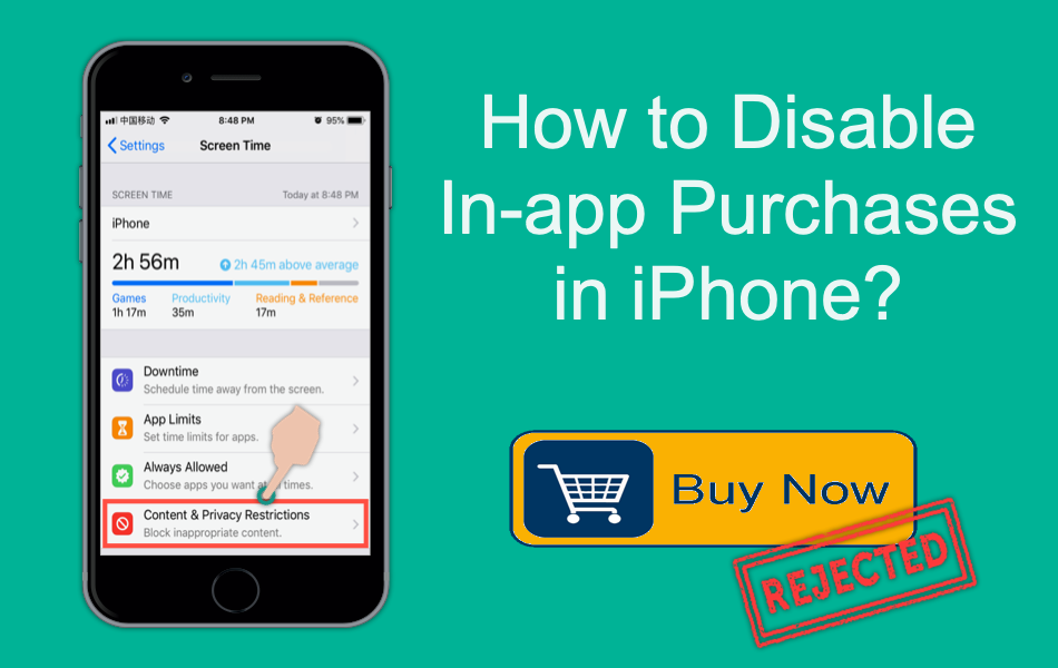 How to Disable in-app Purchases in iPhone?