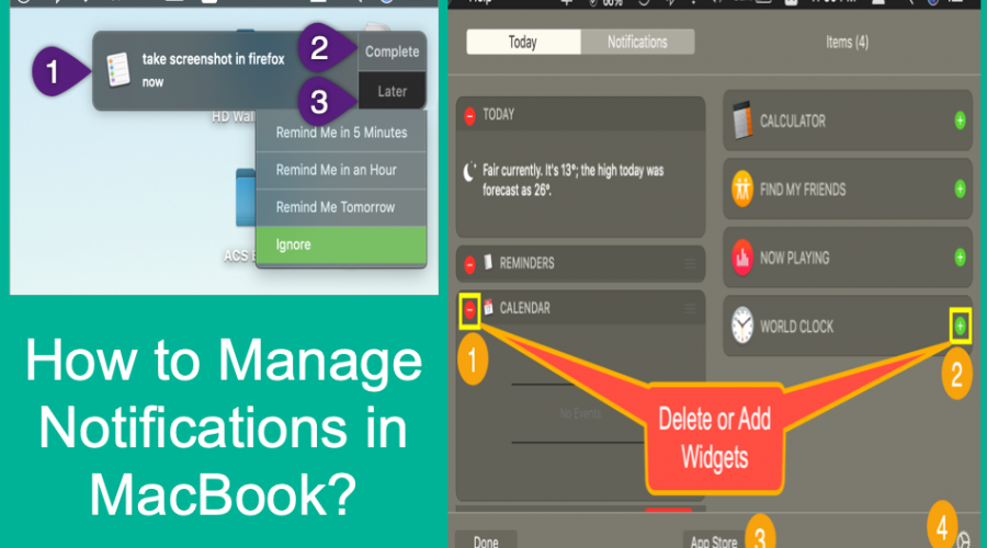 How to Manage Notifications in Mac?