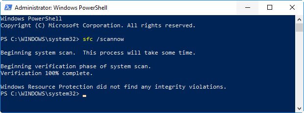Scanning You Computer for Errors