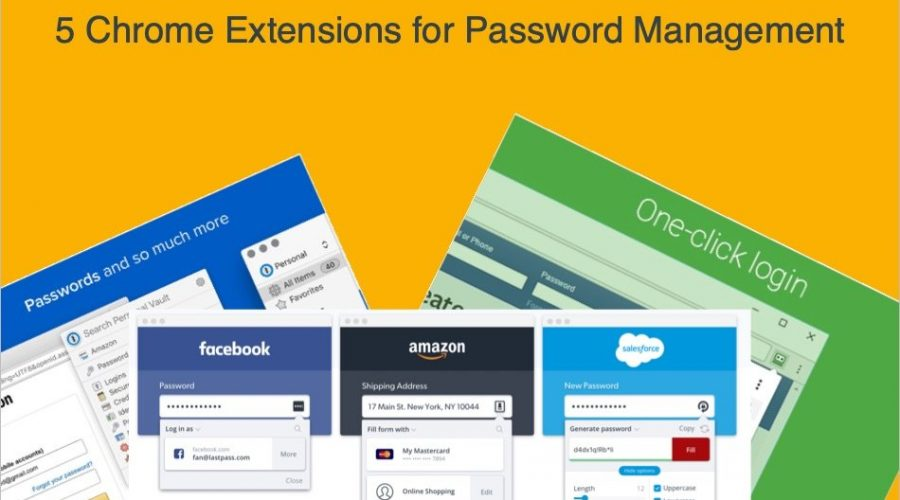 5 Chrome Extensions for Password Management