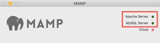 Check MySQL Server Status in MAMP