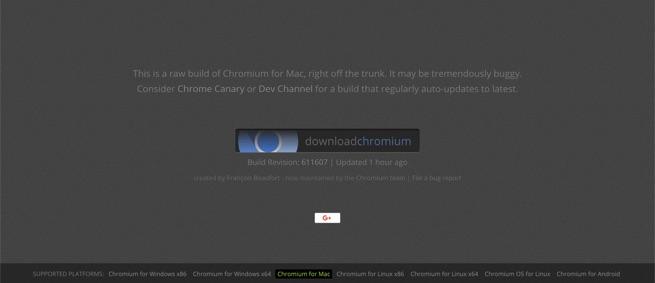 Download Chromium Browser