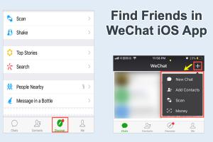 11 Ways to Find Friends in WeChat iPhone App