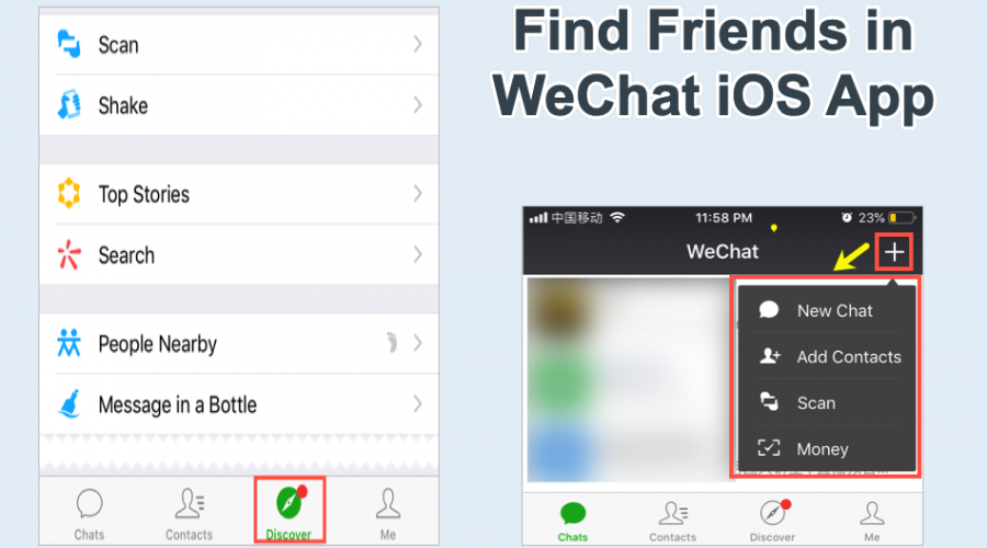 11 Ways to Find Friends in WeChat iPhone App