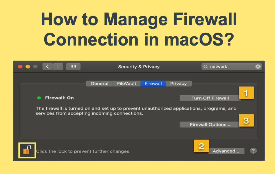How to Manage Firewall in Mac?