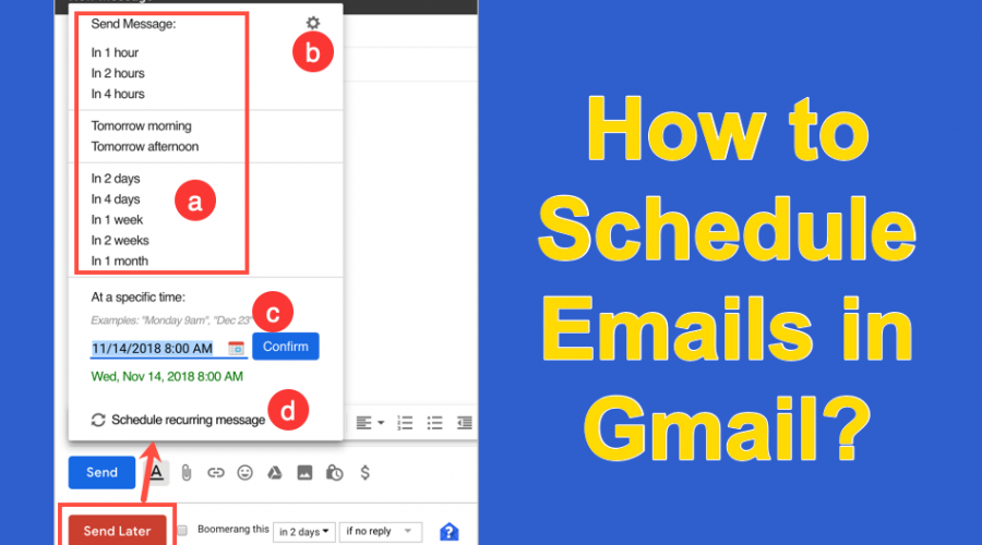 How to Schedule Emails in Gmail?