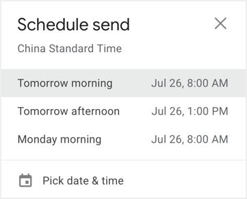 Pick Up Scheduled Date