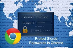 Protect Stored Passwords in Chrome