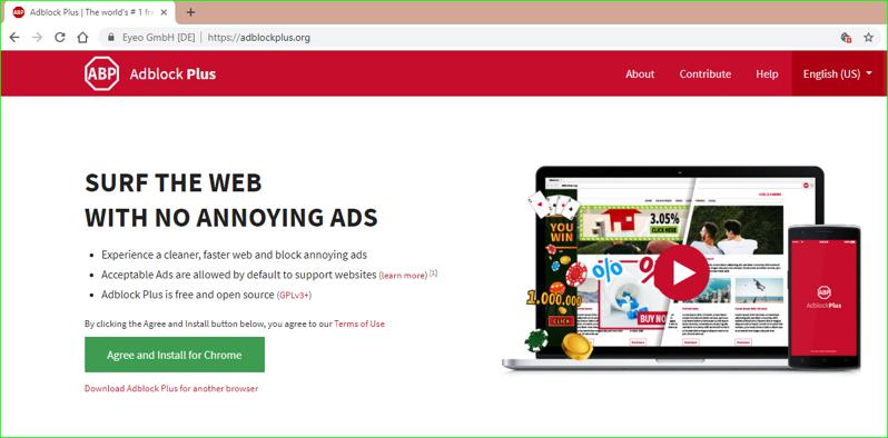 AdBlock Plus Site