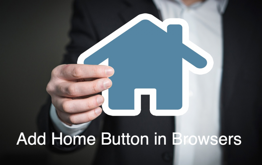 Add Home Button in Browsers