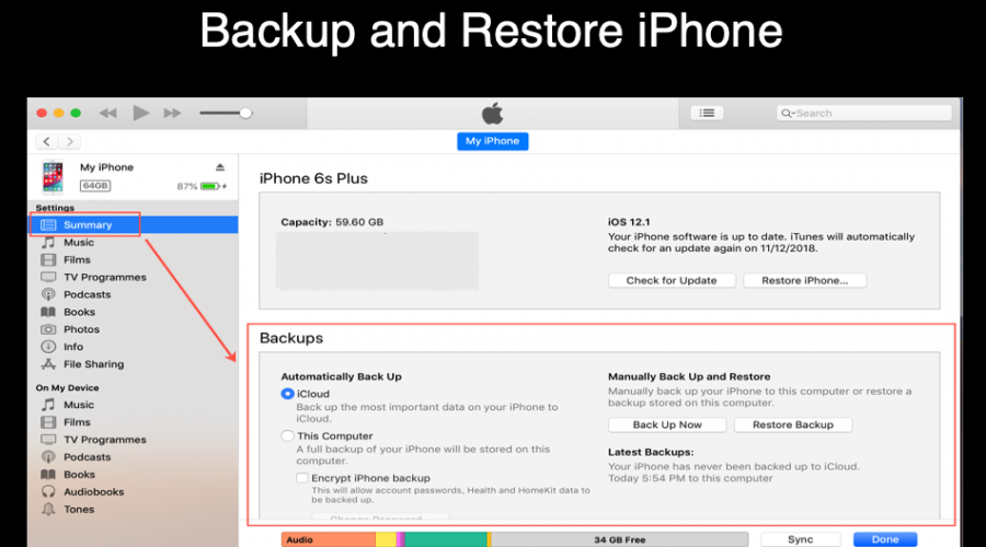 How to Backup and Restore iPhone Using iCloud and iTunes