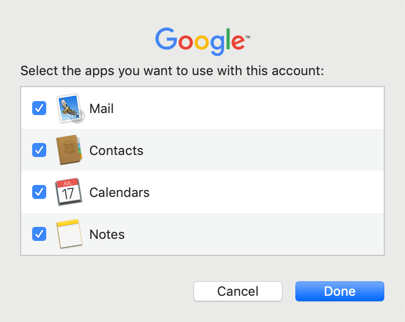 Choose Apps to Use with Gmail