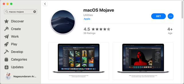 Download macOS Installer from App Store