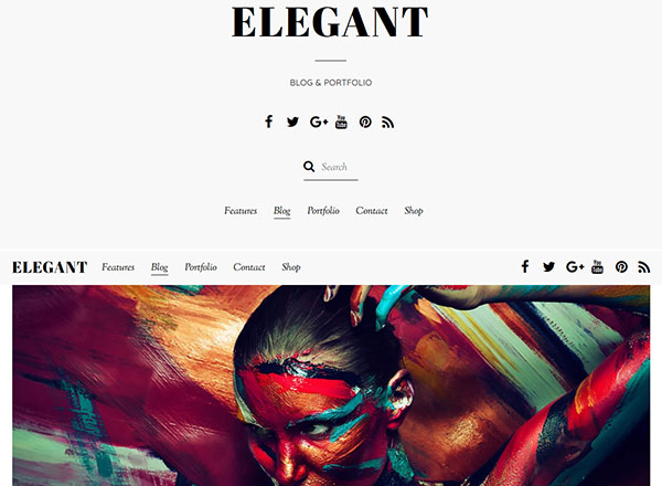 Elegant WordPress Theme