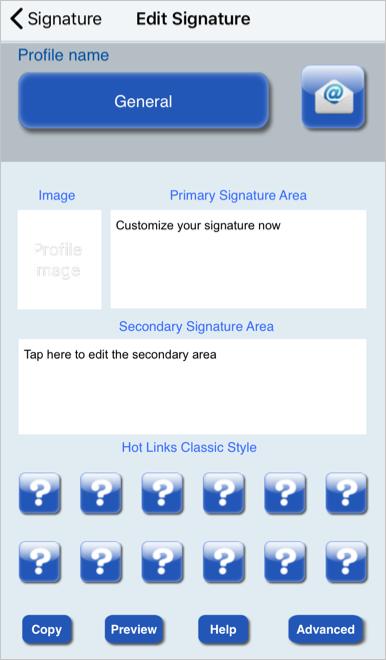 Email Signature Lite App