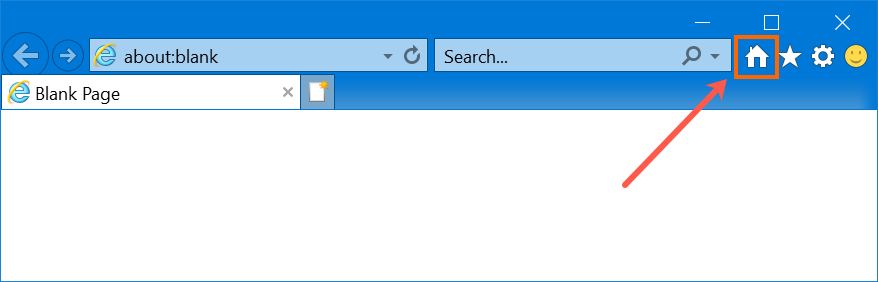 Home Button in IE11
