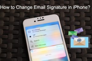 How to Change Email Signature in iPhone?