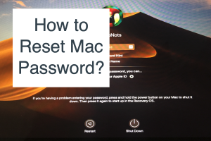 How to Reset Mac Password?