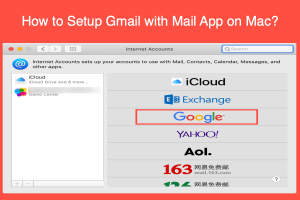 How to Setup Gmail with Mail App on Mac?