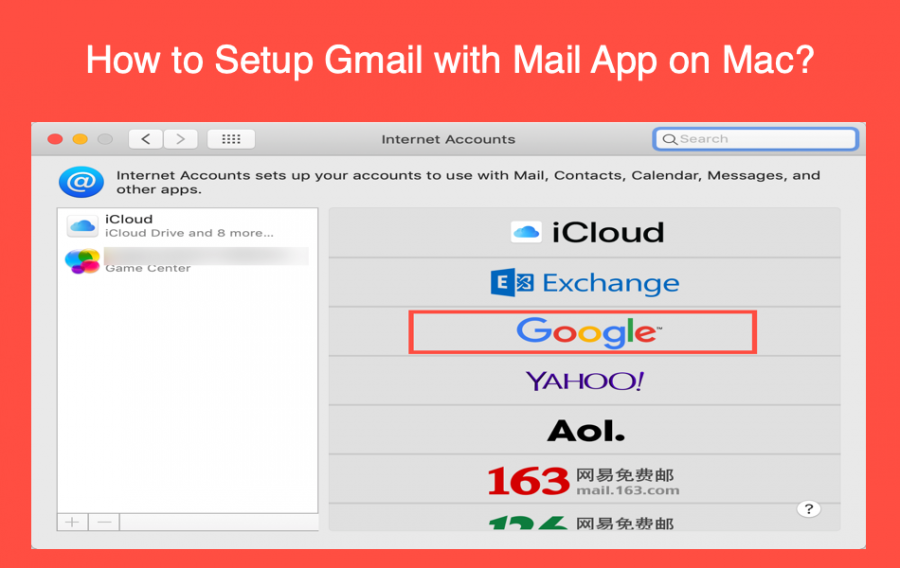 How to Setup Gmail in Mac Mail App?