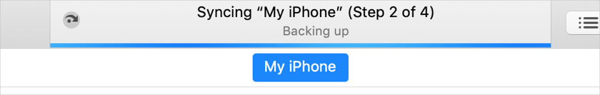 Syncing iPhone Data