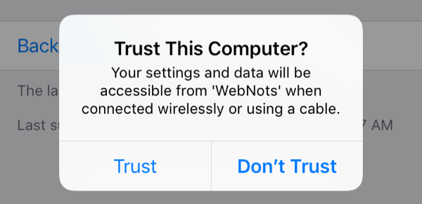Trusting Computer