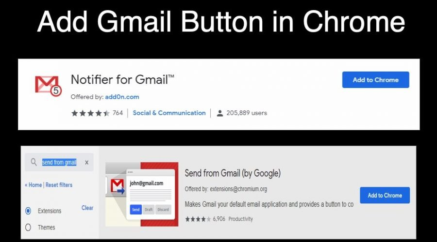 How To Add Gmail Button In Google Chrome Webnots