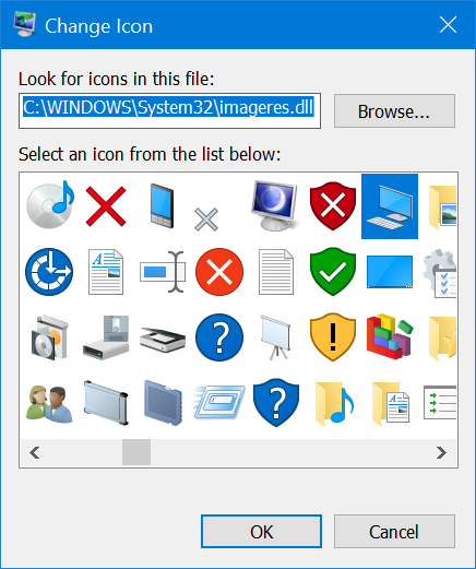 Change This PC Icon Display