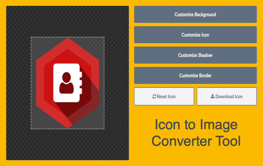 How to Convert Font Awesome Icon to Image?