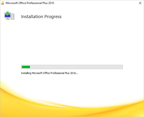 Installing Program