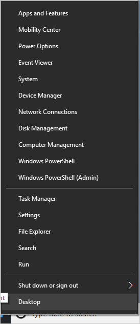 Open PowerShell