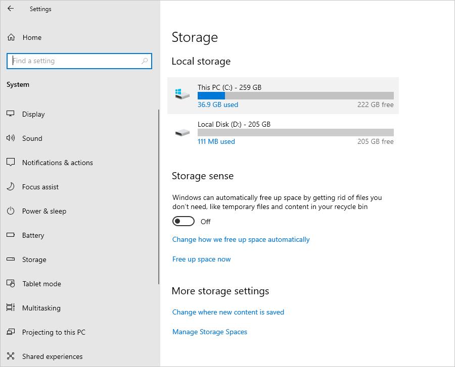Storage Disk