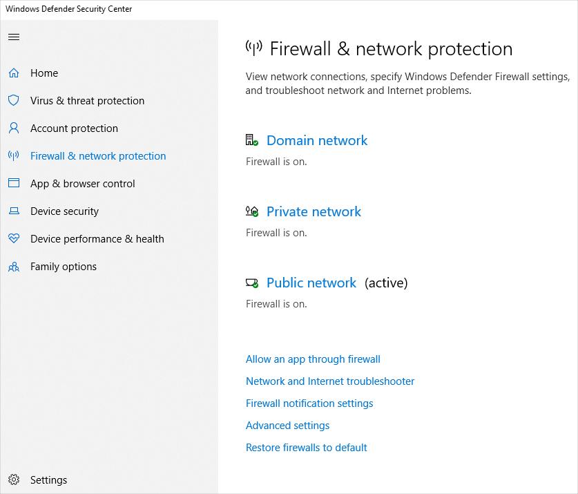 Add Firewall Whitelist