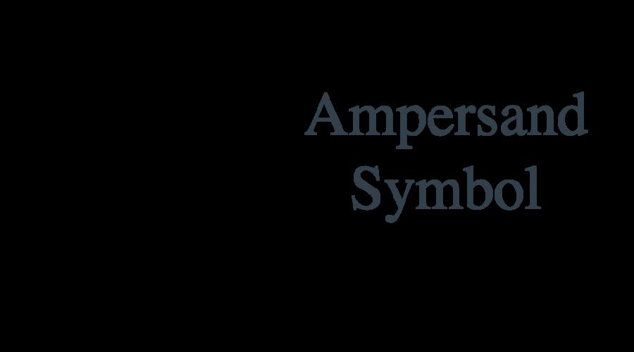 Keyboard Shortcuts for Ampersand Symbol