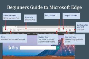 Beginners Guide to Microsoft Edge