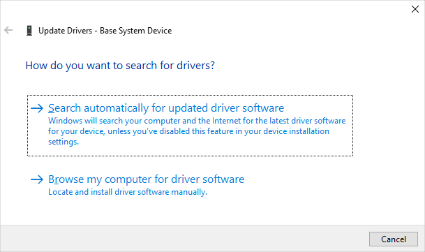 Drivers Search